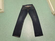 "Replay Straight Jeans Waist 26"" Leg 32"" Faded Dark Blue Ladies Jeans"