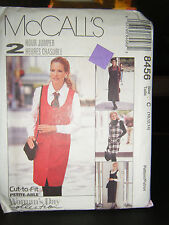 McCall's 8456 Misses Jumper in 2 Lengths & Shirt Pattern - Size 10/12/14
