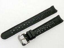 # p804 # relojes pulsera PVC plástico Goma impermeable halbrundanstoß 12 mm