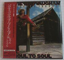 STEVIE RAY VAUGHAN - Soul To Soul + 3 JAPAN MINI LP CD OBI NEU EICP-1175