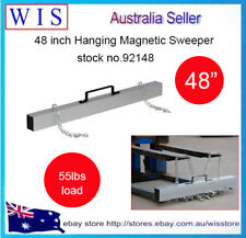 """48"""" Hang-Type Magnetic Forklift Sweeper Easy Remove Metal Parts Off Floors-92148"""