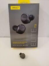 Jabra Elite Active 75t Wireless Earbud - Left Side Replacement - Titanium Black