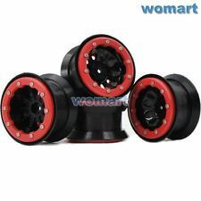 4pcs 2.2 beadlock wheels rims Fit 1/10 RC 4WD Axial LOSI Tamiya crawler 2.2 Tire