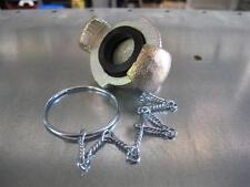 550: Pressluft TG-Blindkupplung KARASTO Kette Gummid. Kompressor Druckluft NEU