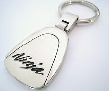 NINJA KEY CHAIN RING FOB KAWASAKI MOTORCYCLE BIKE ZX-10R ZX-6R 2014 2015 NEW