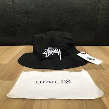 Nike x Stussy Bucket Hat Black M/L Medium/Large BRAND NEW 100% AUTHENTIC