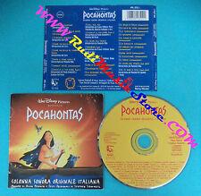 CD SOUNDTRACK Alan Menken,Stephen Schwartz Pocahontas WDR 4816512 no lp mc(OST2)