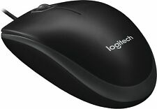 Logitech M100 Corded Optical Mouse Black (910-001601) 862287