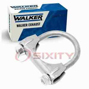 Walker Extension Pipe To Muffler Exhaust Clamp for 1985 Volvo 745 2.3L L4 kg
