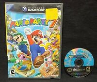 Mario Party 7 -  Nintendo GameCube Tested / Working Game 1-4 players