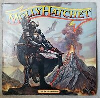 "MOLLY HATCHET 1984 The Deed Is Done 12"" Vinyl 33 LP Epic FE 39621"