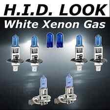 H1 H1 H3 501 100w White Xenon HID Look High Low Fog Beam Headlight Bulb Pack