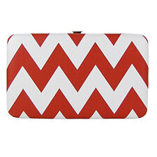 3896bff96937 RED CHEVRON LOOK FLAT THICK WALLET MONTANA WEST COUNTRY WESTERN FASHION  BIFOLD