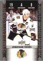 2019-20 Upper Deck Tim Hortons Game Day Action Jonathan Toews ! #HGD-8  NM-MINT