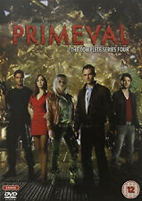 PRIMEVAL COMPLETE SERIES 4 DVD Fourth Season Douglas Henshall UK Rele R2 New