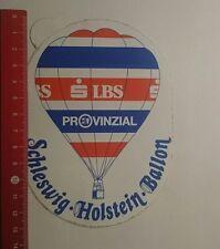 Aufkleber/Sticker: LBS Provinzial Schleswig-Holstein Ballon (201216154)