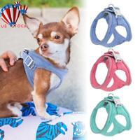Non-Pull Dog Harness Adjustable Pet Puppy Walking Strap Vest Soft Chest Belt US