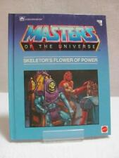 Masters of The Universe - A Golden Book Mattel Inc  Skeletor's Flower of Power
