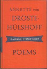 Poems (Clarendon German series) : Annette von Droste-Hülshoff