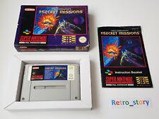 Super Nintendo SNES - Wing Commander The Secret Missions - PAL - UKV