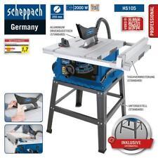 Tischkreissäge HS105 Profi-Gerät 2000W,Schnitthöhe 75mm, Untergestell