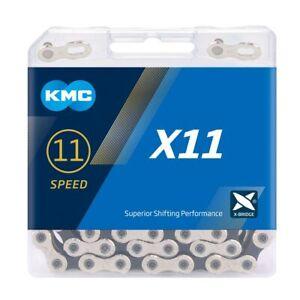 KMC X11 Chain - 11 Speed - 118L - Silver / Black