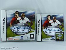 Real Football 2008 für Nintendo DS/Lite/XL/3DS - OVP+Anl. - Sehr guter Zustand
