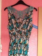Unbranded Polyester V Neck Empire line Dresses for Women