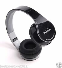 Over-ear Bluetooth Headphones Headset for All Mobile Cell Phone Laptop PC Tablet