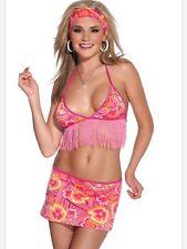 Adult Women Coquette 1936 Disco Bikini Top W / Skirt Clubwear