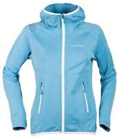 LA sportiva avail jacket womens blue and white jacket size 14   *REF39
