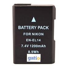 Akku Acku Batterie En-EL14 EN-EL14a ENEL14 für NIKON D3200 Kamera