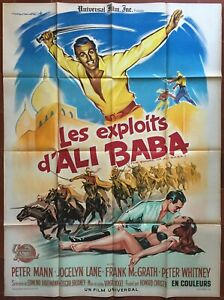 Poster The Exploits D'Ali Baba Sword Of Ali Baba Orient Bagdad 47 3/16x63in