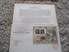 Collectable 1990 Anniversary Rare Penny Black Stamp Presentation Unused