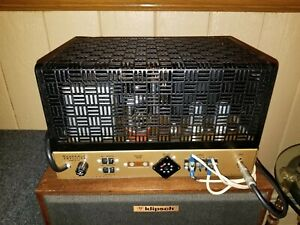 HEATHKIT W5M WITH KT66 GOLD LIONS