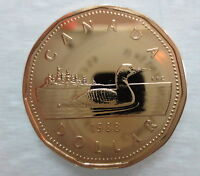 1988 CANADA LOONIE PROOF-LIKE ONE DOLLAR COIN