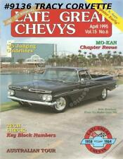 April 1995 Late Great Chevys Australia Tour Canberra 58-64 Block Casting Numbers