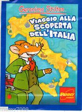 FIGURINE=BUSTINA SIGILLATA=GERONIMO STILTON -VIAGGIO ALLA SCOPERTA DELL'ITALIA