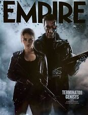 Empire  May 2015 TERMINATOR GENISYS Arnold Schwarzenegger LIMITED COVER SEALED