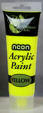 New ACRYLIC PAINTS 14 Assorted Colours 120ml Tube Arts Crafts Children Artist