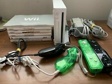 Nintendo Wii RVL-001 Console with Five Games and 2 Controller & Nunchucks