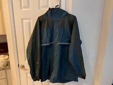 Eddie Bauer Rain Suit Reinforced Nylon XL Jacket Rain Jacket & Pants
