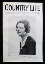 DOROTHY CHAMBERLAIN / STEPHEN LLOYD / NEVILLE PHOTO ARTICLE 1934
