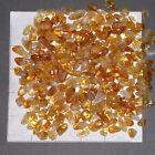 CITRINE 'A' grade mini-xsm, tumbled 1/2 lb bulk stones quartz golden