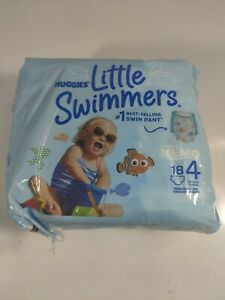 Huggies Little Swimmers Swim Diapers Size 4 18 Ct