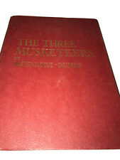 The Three musketeers Alexandre Dumas Hardback Decorative Vintage Book Colour