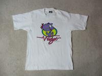 VINTAGE Widget Shirt Youth Large White Purple Cartoon TV Show Kids Boys 90s