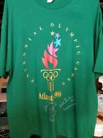 .1996 ATLANTA OLYMPICS AUSTRALIAN SIGNED SHIRT BRONZE MEDAL NATALIE COOK &HUDSON