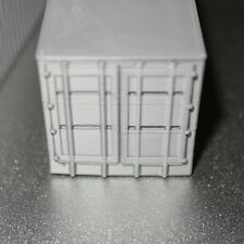 3 x Mini shipping container, miniature - 3D Printed, Cargo, freight container
