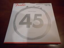 NEW Fender 9050L Long Scale Stainless Steel Flatwound Bass Strings, 073-9050-403